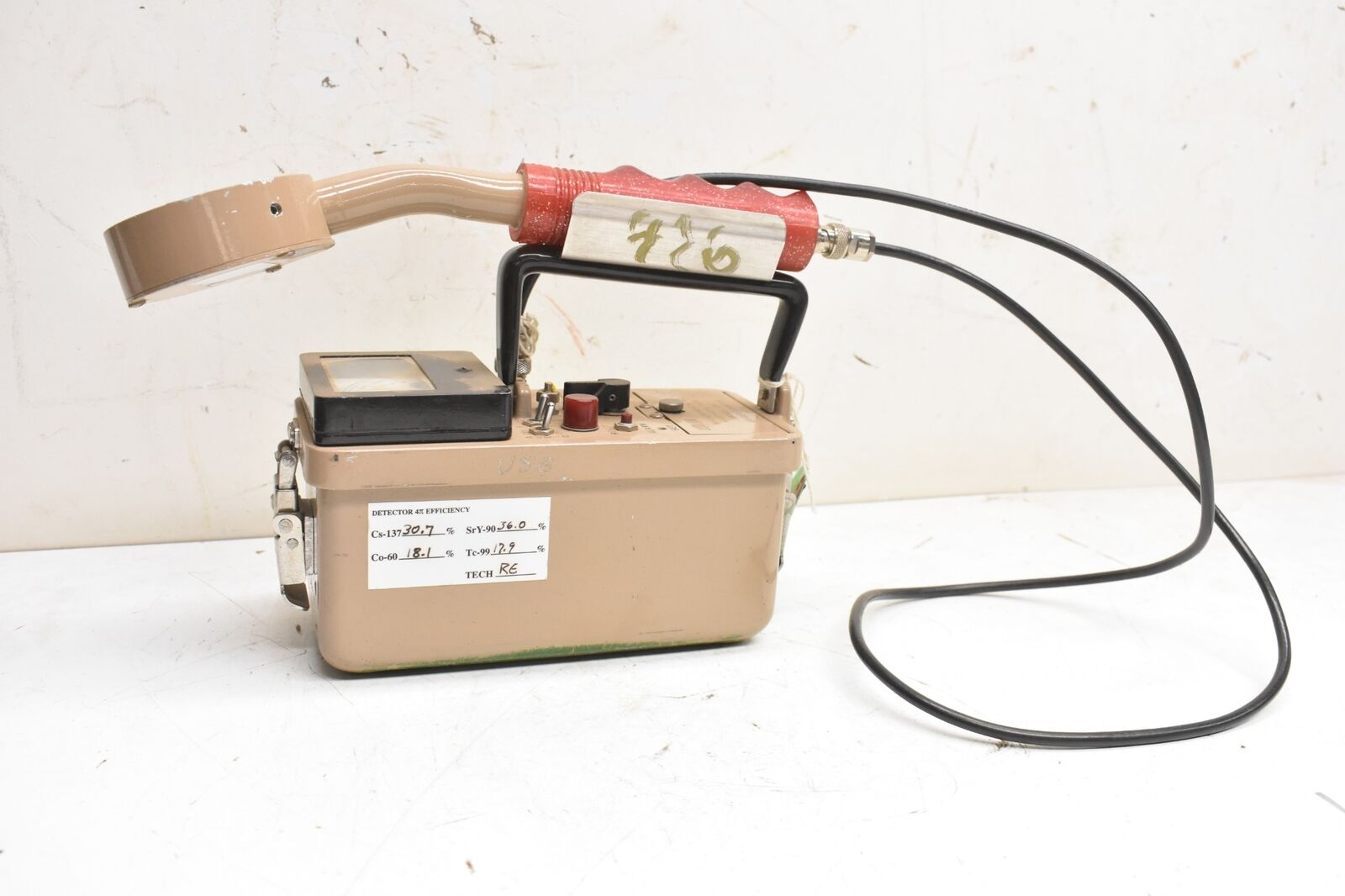 s l1600 - Ludlum Model 2A Geiger Counter