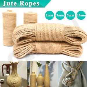 Sisal-Rope-Natural-Jute-Hemp-Manila-Twine-Cord-Thick-2-3-5-10mm-Art-Bottle-Craft