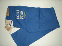 Hollister Light Skinny Beach Sweatpants Med Dark Ink Blue