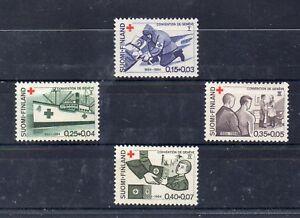 Finlandia-Cruz-Roja-Serie-del-ano-1964-DR-53