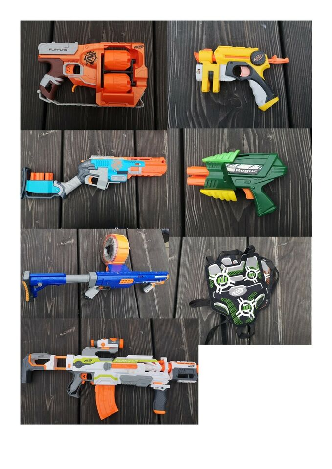 Legetøjsvåben, Nerf