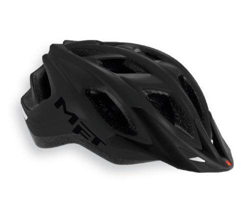 Casco Bici MET FUNANDGO Mod.  NEGRO MATE HELMET MET funandgo negro Mate  entrega de rayos