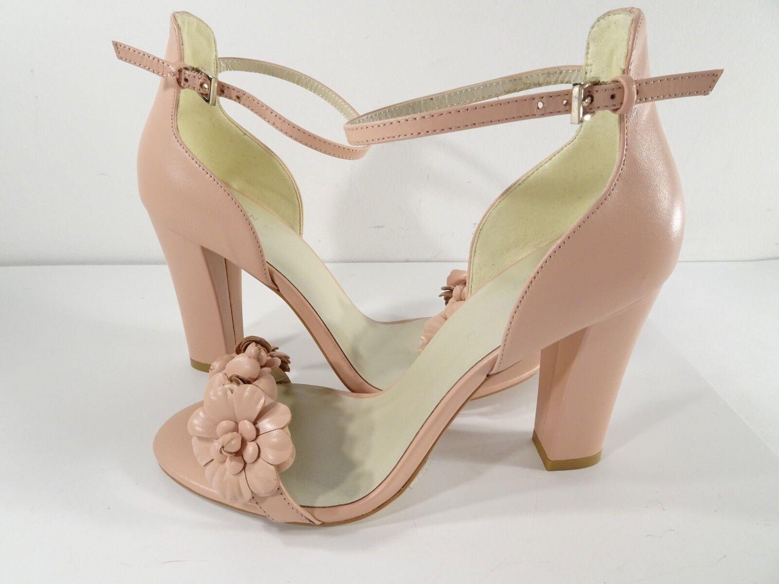 benvenuto a comprare Karen MILLEN donna Leather Floral Applique Heels Heels Heels Pumps Sz 38 NIB 299  marche online vendita a basso costo