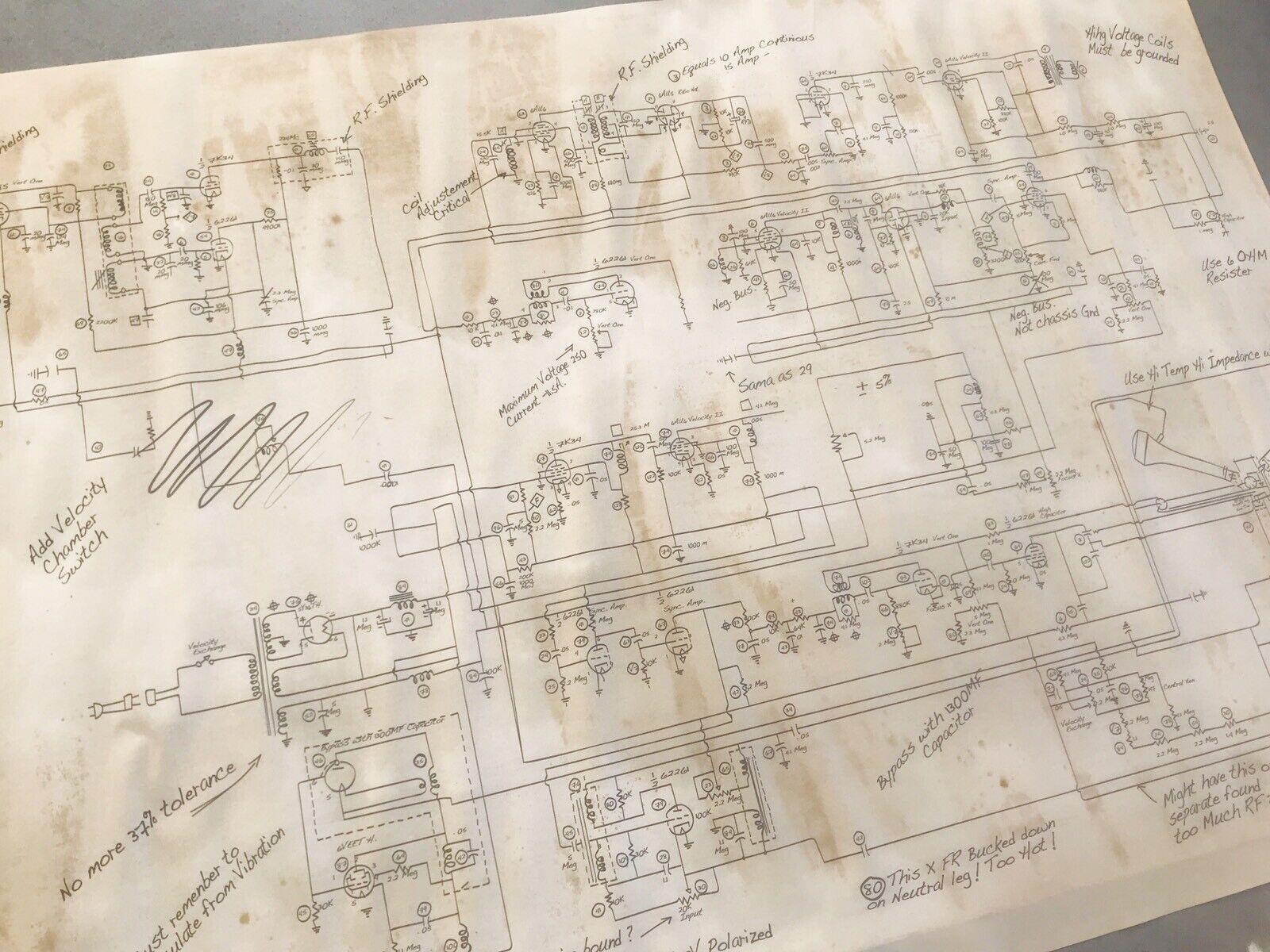 Schéma Schéma Schéma Du Convecteur Temporel (Flux Capacitor) - BTTF 3 - Retour Vers Le Futur 3 9f20a7