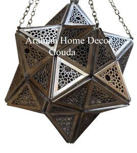 Gallery of Light Moroccan Hanging Star Lantern