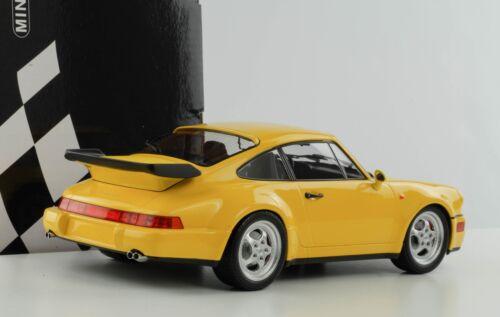 Porsche 911 964 3.6 Turbo Speedgelb diecast 1:18 Minichamps 155069100