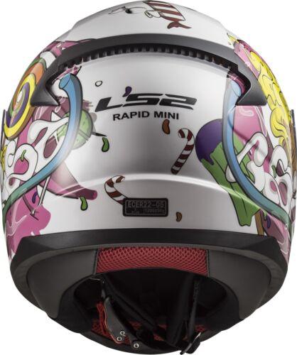 Ls2 ff353j RAPID Mini Bambini Casco Moto casco casco casco integrale