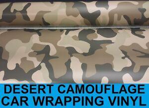 77e22b0623d169 Desert Camouflage Vinyl 1.52 x 4 Meters - Bubble Free Camo Car ...