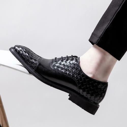Details about  /British Mens Faux Leather Business Leisure Shoes Pointy Toe Work Wedding Party L