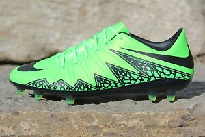 f06a789a0940 Nike Hypervenom Phinish II FG Soccer Cleats Lime Green Men's Sz 7.5 ...