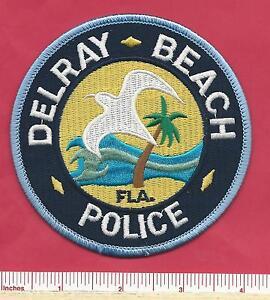 V2 Palm Beach County Delray Beach FL Florida State Fla Law Enf Police Patch