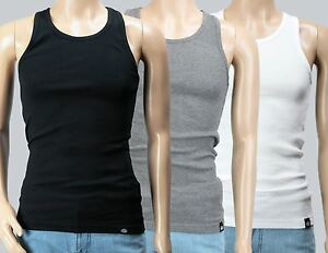 Dickies-T-Shirt-Tank-Top-Pack-034-Proof-034-3-St-Set-schwarz-grau-weiss-Gr-S-XXL