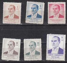 Turkey - Scott 1525-1530 Mint NH (Catalog Value $28.70)