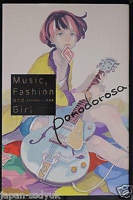 JAPAN pomodorosa Sakuhin-shuu Art Book: Music,Fashion and Girl
