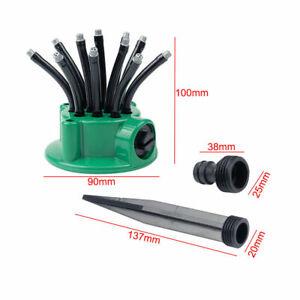 360° Flexible Water Sprayer Lawn Grass Sprinkler Head Garden Yard Watering Tool