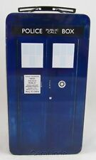 Vandor 16170 Doctor Who Tardis Shaped Tin Tote Multicolored