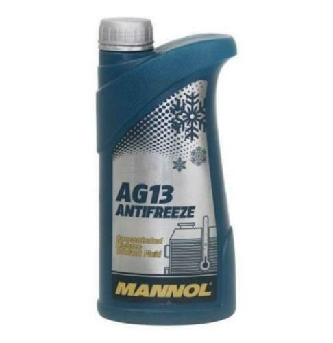// Winter Coolant Hightec MANNOL AG13 Concentrated GREEN Antifreeze 1L