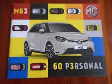 MG 3 range brochure Sep 2013