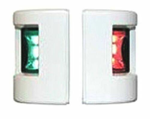 FOS PORT /& STARBOARD BOAT LED NAVIGATION LIGHT LALIZAS 12MT VESSEL WHITE