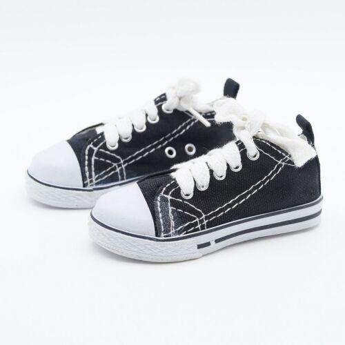 "Black Sneakers Shoes Canvas For 1//3 24/"" 60CM BJD SD AOD AS DK DZ VOLKS DOLL"