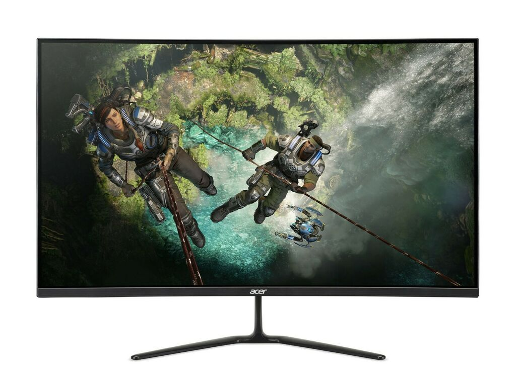 """NEW Acer 32"""" Curved FHD 1920x1080 HDMI DP 165Hz 1ms Freesync LED Gaming Monitor 193199789136   eBay"""