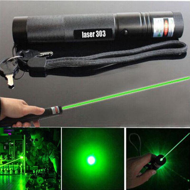 1000m 532nm 303 Green Laser Pointer Pen Lazer Visible Beam L