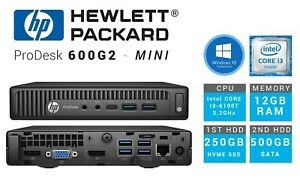 HP-Prodesk-G600-G2-Mini-I3-6100T-12GB-RAM-250GB-SSD-500GB-HDD-Windows-10-PRO