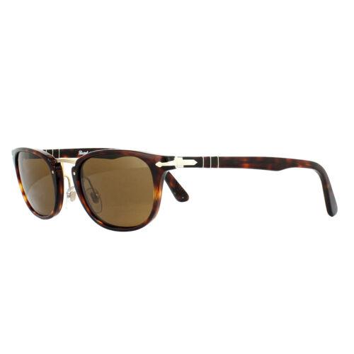 Occhiali DA SOLE PERSOL 3127 S 24//57 Havana Brown Polarized