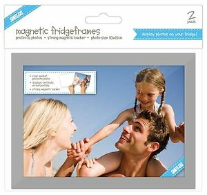 Shot 2 Go Magnetic Fridge Frames 5x7 2 Pack PhotoPictureRectangleSpecialNEW - London, United Kingdom - Shot 2 Go Magnetic Fridge Frames 5x7 2 Pack PhotoPictureRectangleSpecialNEW - London, United Kingdom
