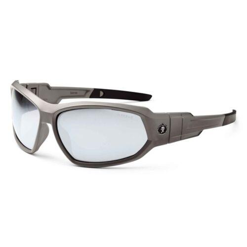 Ergodyne Skullerz Loki Safety Glasses //// Goggles Matte Gray Frame