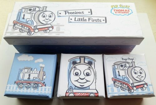 HALLMARK THOMAS THE TANK ENGINE ~ BABY CHRISTENING GIFT MEMORIES KEEPSAKE BOXES