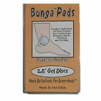 Bunga Pads 2.5 Gel Discs - Protect Ankles From Pressure, 2pcs By Absolute