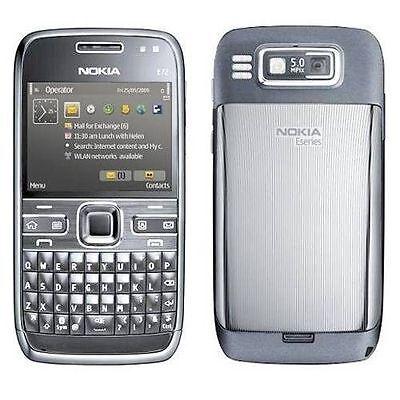 Nokia E72 - Metal grey (Unlocked) Smartphone, sealed 6438158188457   eBay
