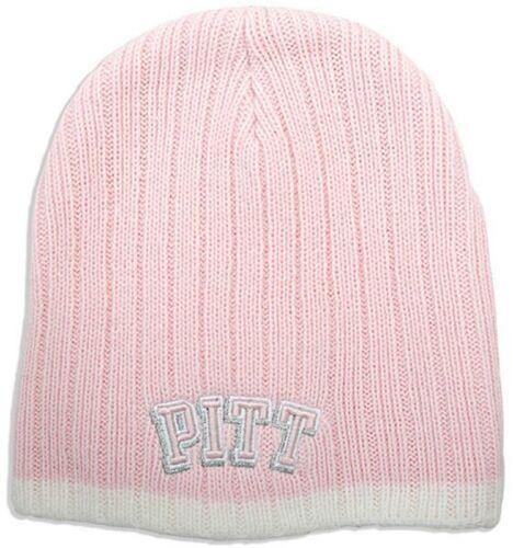 Pink Wool University of Pittsburgh Knit Cap