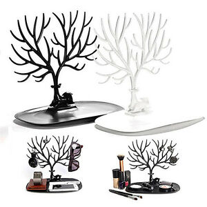 Jewelry-Deer-Tree-Stand-Display-Organizer-Necklace-Ring-Earring-Holder-ShowRacWI