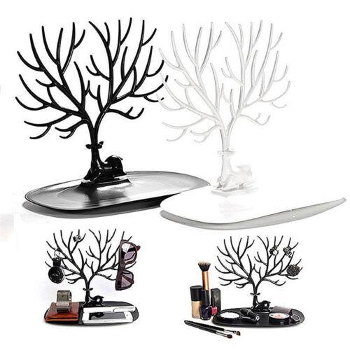 Bijoux cerfs communs arbre Présentoir Collier porte-boucles LTA