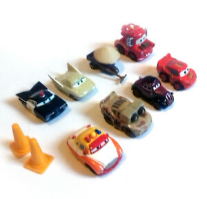 Disney Pixar Movies Cars 2 Toy Mini Vehicle Figures With Lightning Mcqueen Ebay