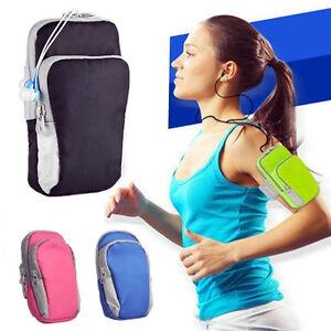 Marsupio fascia da braccio bici smartphone corsa fitness - Porta ipod da braccio ...