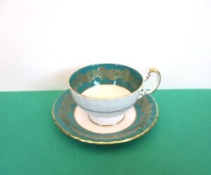 SALE-Aynsley-Porcelain-Cup-and-Saucer-England