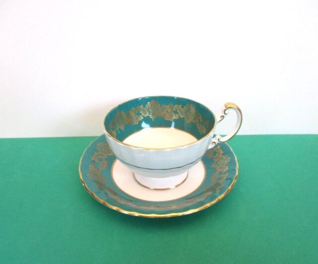 SALE Aynsley Porcelain Cup and Saucer, England
