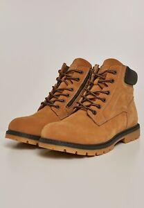 urban classics mens boots shoes boots winter casual miele