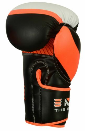 EMRAH Leather Boxing Gloves MMA Training Fight Sparring Punching kickboxing