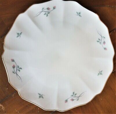 Lenox Rose Manor cake platter
