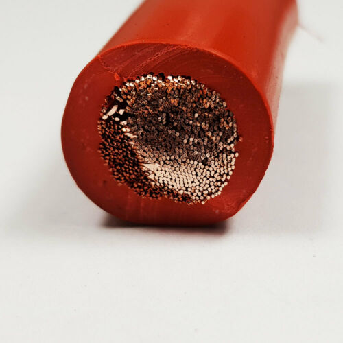 70mm2 Red Flexible PVC Battery Welding Cable 485 A Amps 1M 1 M Length Car Auto