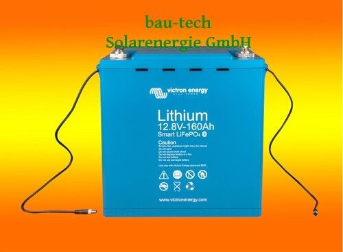 Victron LiFePO4 Lithium Batterie 12,8V 160Ah 2048Wh mit Zellausgleich Smart Akku