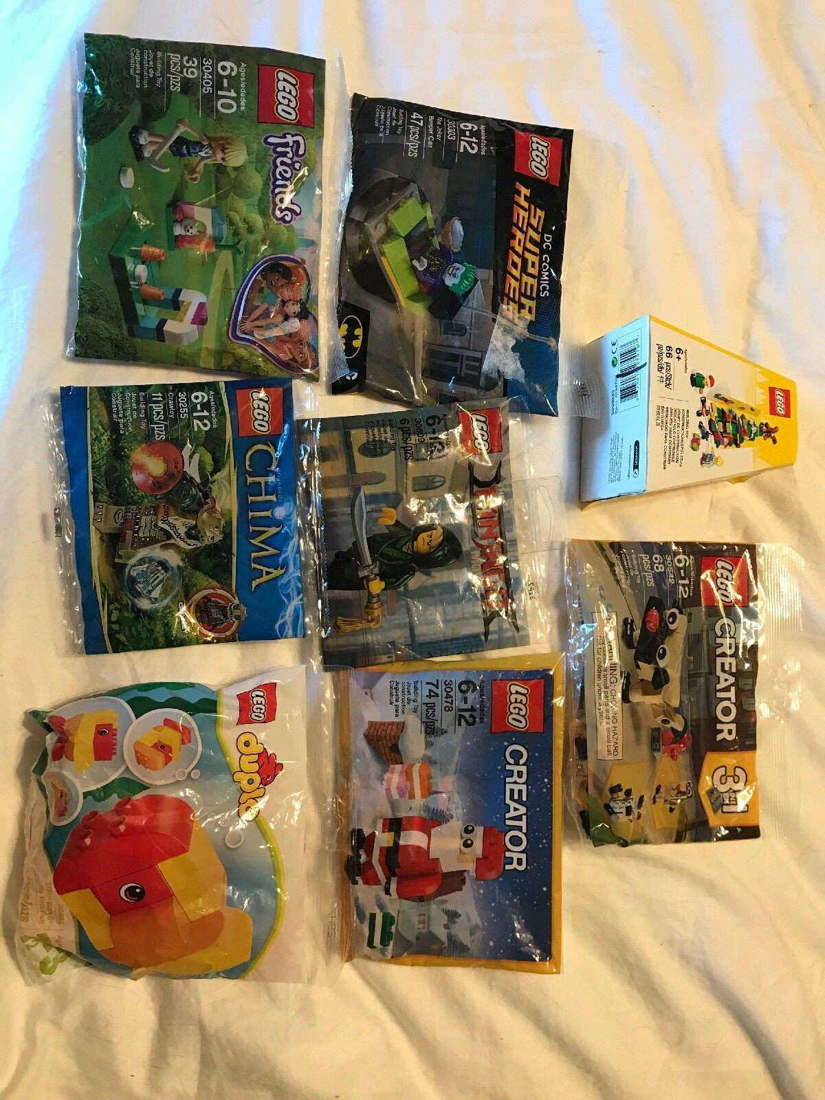 LEGO Duplo My First Fish Set 30323 Building Toy NEW Poly Bag Sealed Rare Animal
