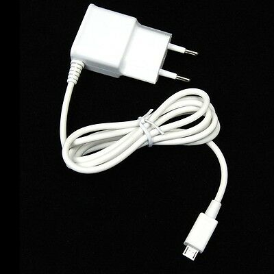 EU 2A Micro USB Cable Wall Charger Power Adapter For Galaxy S2 S3 S4 S5 Note 2 3