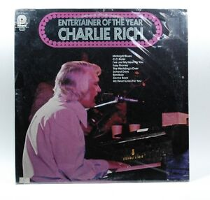 CHARLIE-RICH-Entertainer-Of-The-Year-12-034-LP-Vinyl-Record-1974-Pickwick-Records