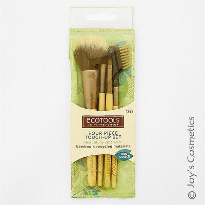 "1 ECOTOOLS Makeup Brush - 4 Piece Touch-Up Set  ""ET-1289""   *Joy's cosmetics*"
