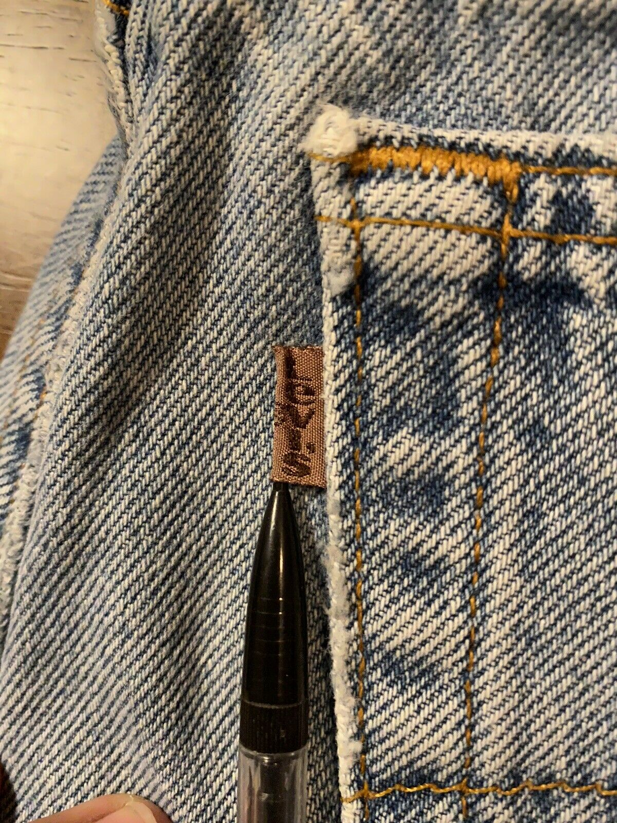 Vintage Levis (Brown Tab) Made In USA - image 2